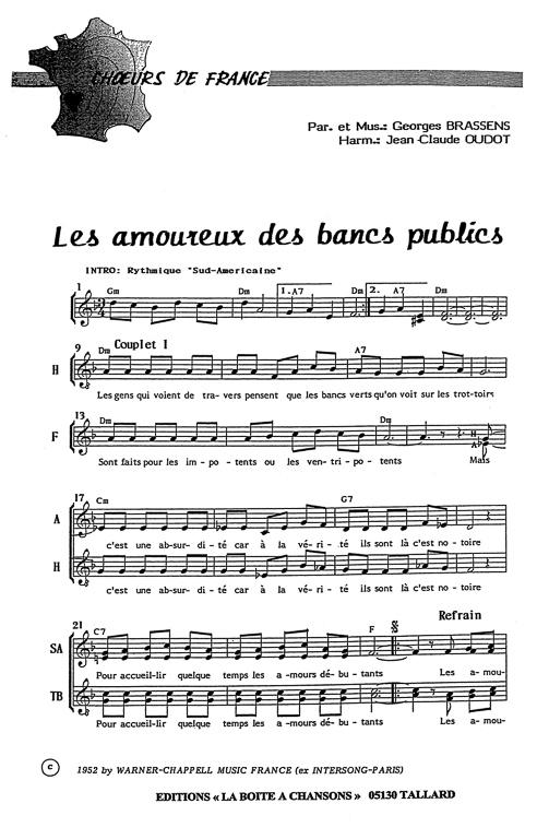 Partition De Musique éditeur De Partitions Pour Chorale