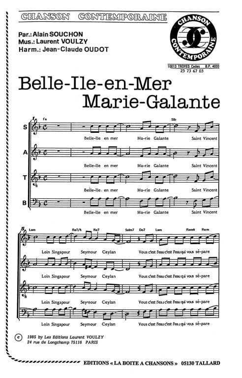 chansons pour les femmes et les hommes