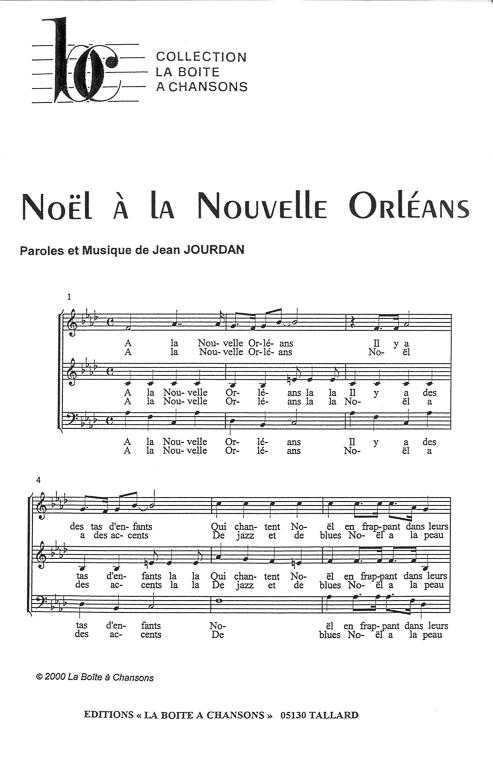 partition musique orleans
