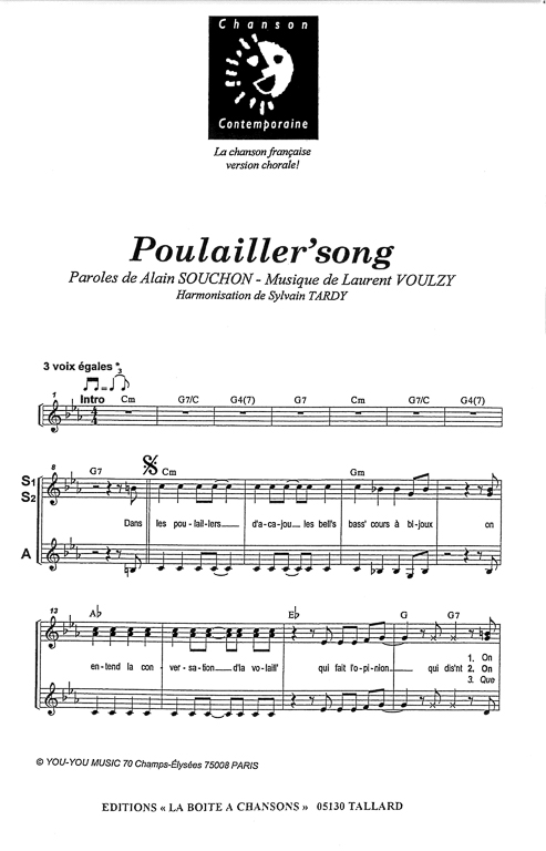 poulailler s song